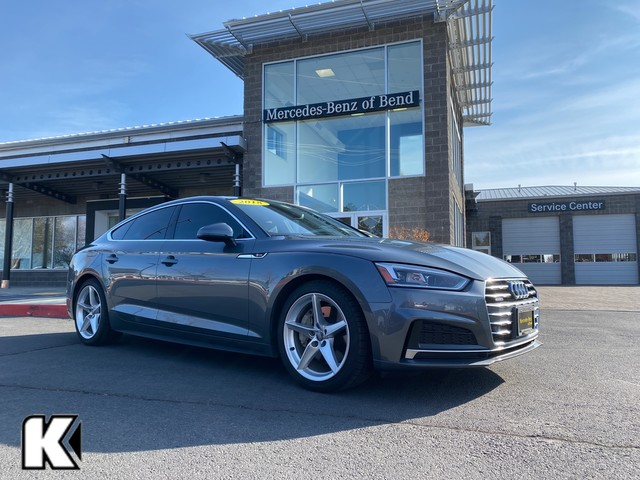 Pre-Owned 2018 Audi A5 Sportback AWD Premium Plus